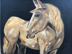 Horse Painting - Haywood County Arts Council